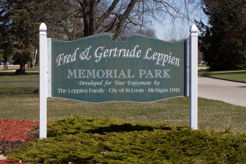 Leppien Park Sign